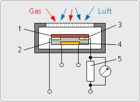 Halbleiter-Gassensor